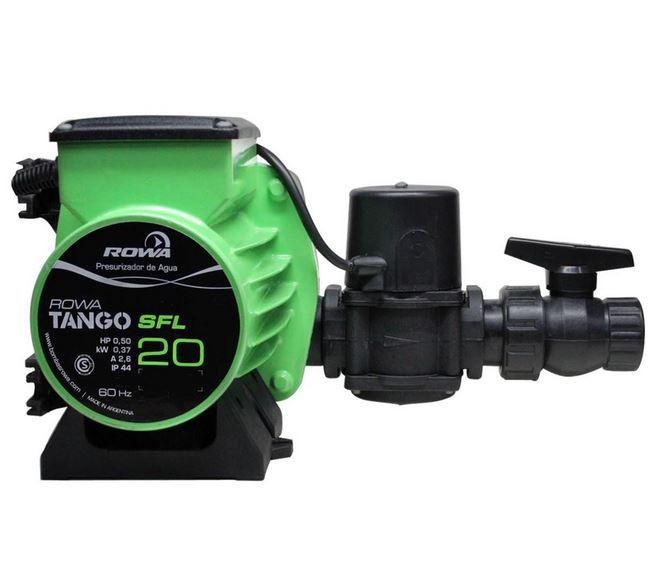Pressurizador Rowa Tango Sfl 20 Monofásico 220V - Até 4 Banheiros