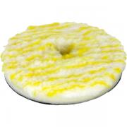 Boina de Lã Pirulito c/ Interface Amarela Corte Leve/Refino Lincoln Rotativa 5,5