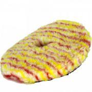 Boina de Lã s/ Interface Vermelha/Amarela Corte Lincoln 6 Roto Orbital