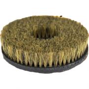 """Escova com Velcro Macia Preta/Dourado para Higienização de Estofado 5"""" Kers"""