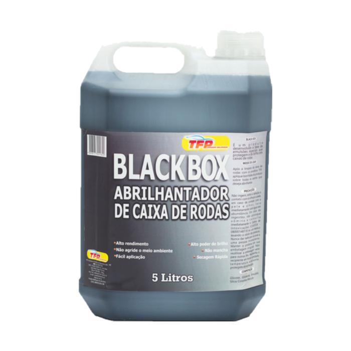 Abrilhantador de Caixa de Rodas Black Box TFP 5L