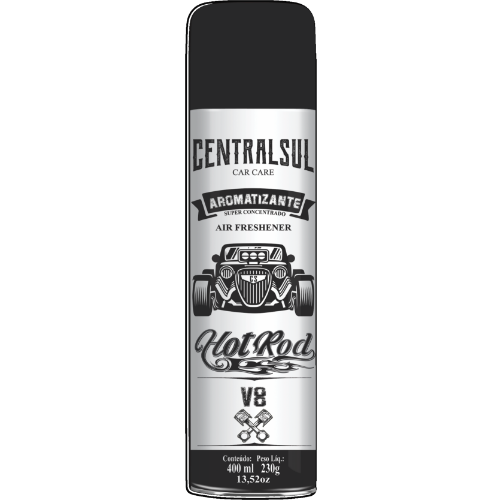 Aromatizante Hot Rod V8 400ml Centralsul