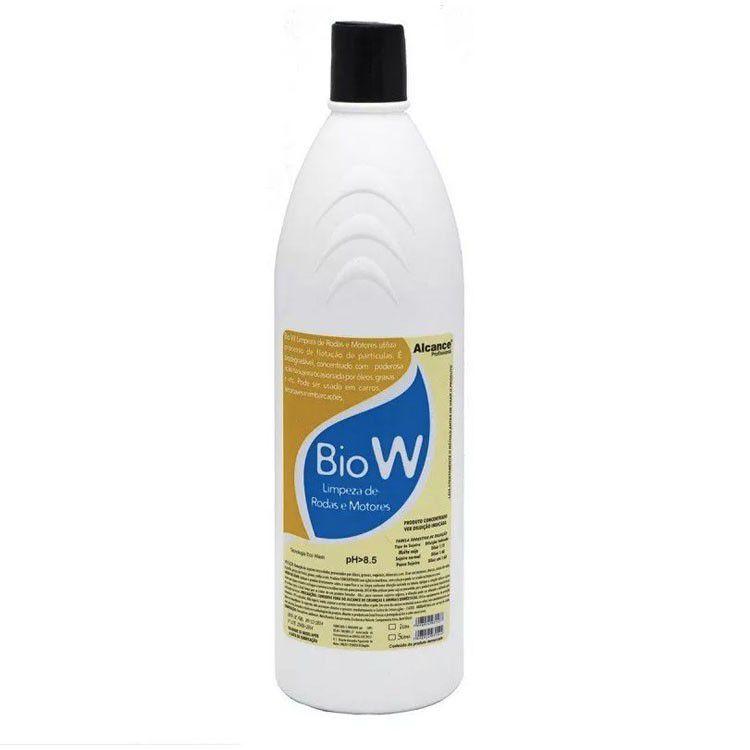 Bio W limpeza de rodas e motores 1l - Alcance