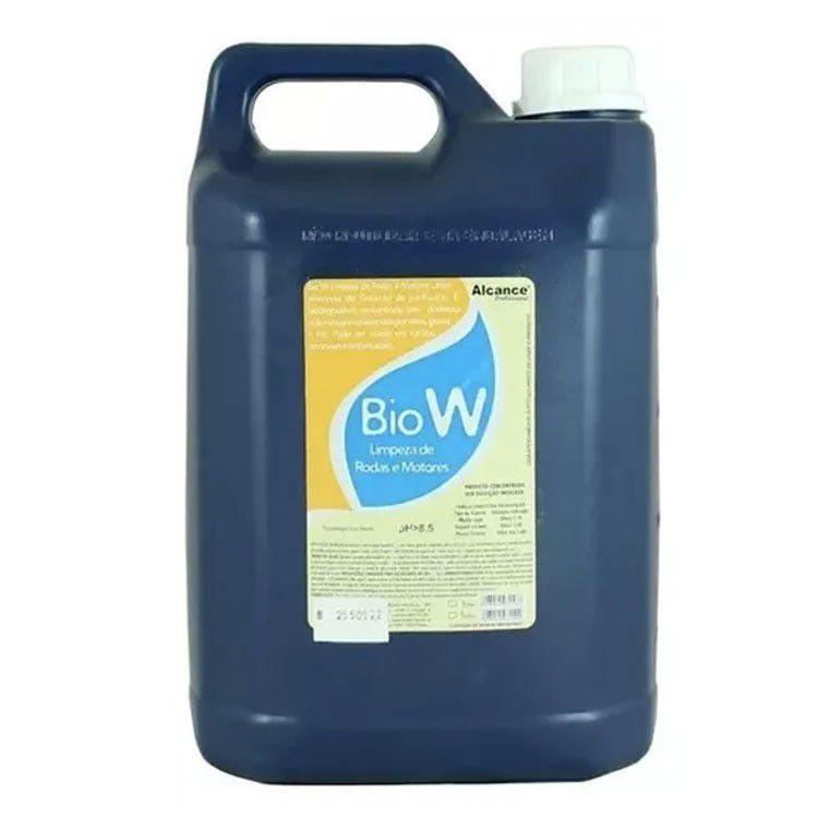 Bio W limpeza de rodas e motores 5l - Alcance
