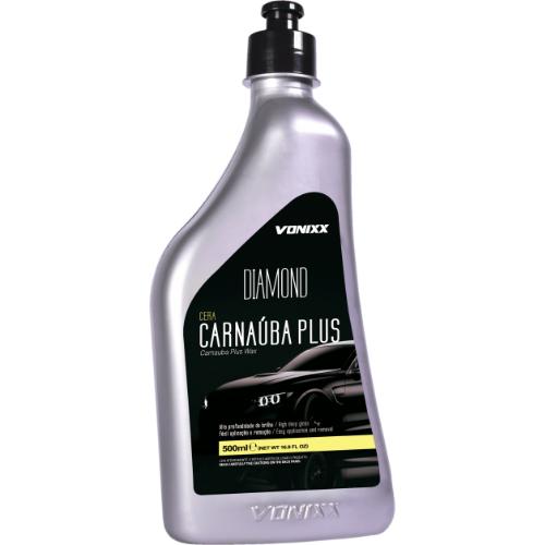 Cera Carnaúba Plus Limpadora e Protetora 500ml Vonixx (Ref. 0034)