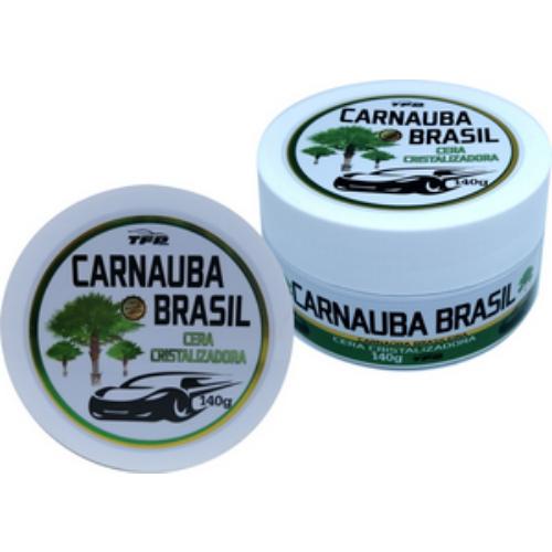 Cera Cristalizadora Carnauba Brasil 140g TFP