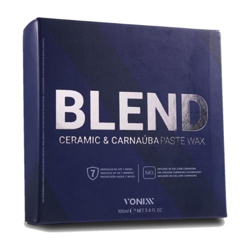 Cera de carnaúba e sílica Blend Paste Wax 100ml - Vonixx