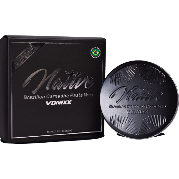 Cera de Carnaúba Native Brazilian Paste Wax ? Black Edition (100ml)