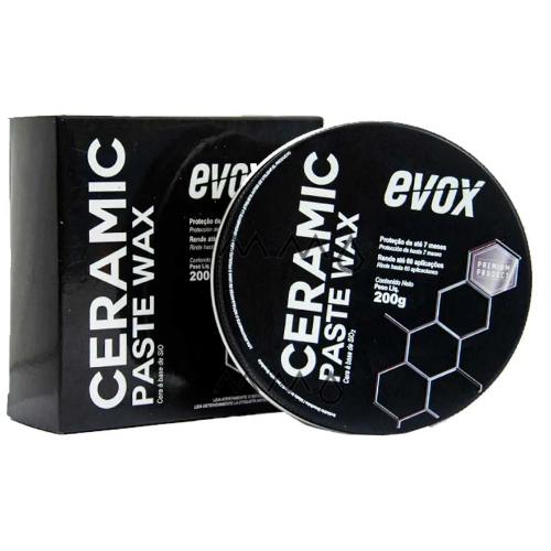 Cera Protetora com Sio2 Ceramic Paste 200g Evox