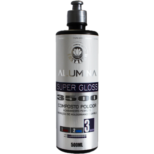 Composto Polidor de Lustro Alumina 3500 Super Gloss 500ml Easytech
