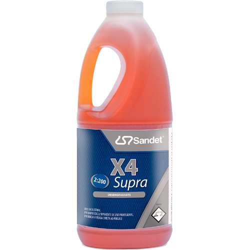 Desengraxante X4 Supra 2L Sandet