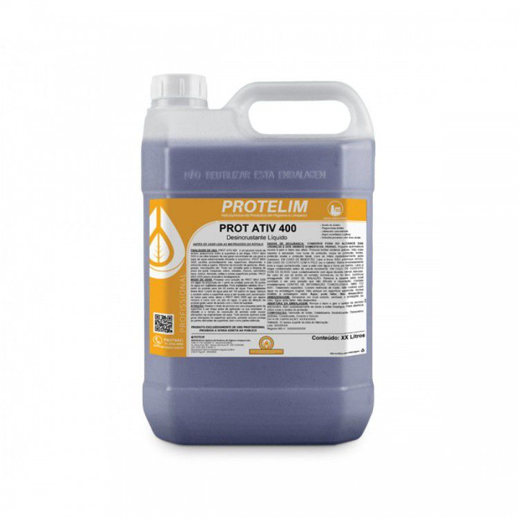 Desincrustante Ácido Prot Ativ 400 5L - Protelim