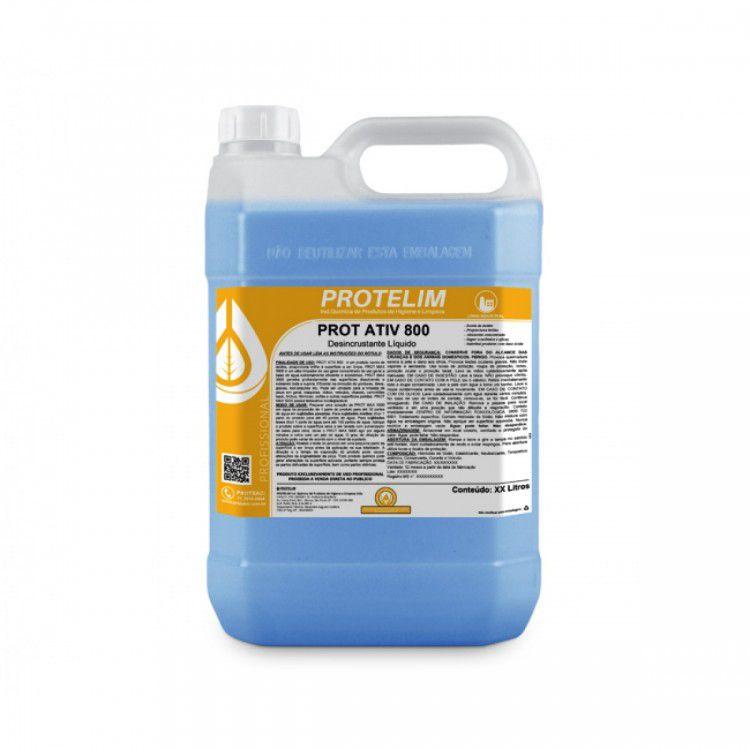 Desincrustante ácido Prot Ativ 800 5L - Protelim
