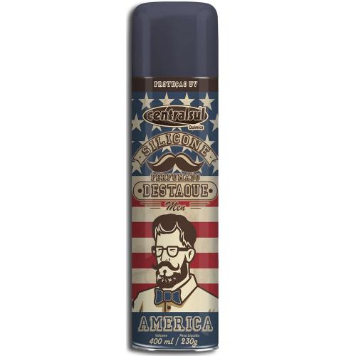 Silicone Spray Perfumado América 400ml Centralsul