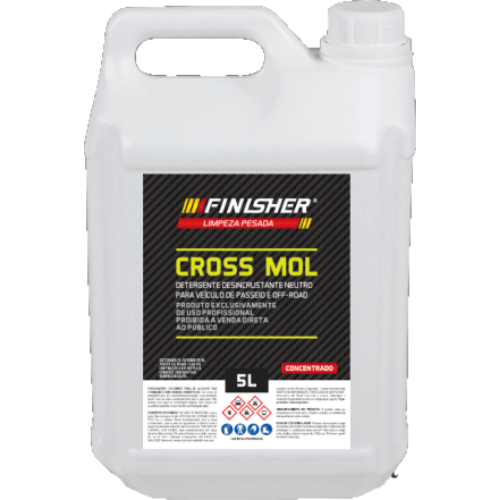 Detergente Cross Mol 5L Finisher