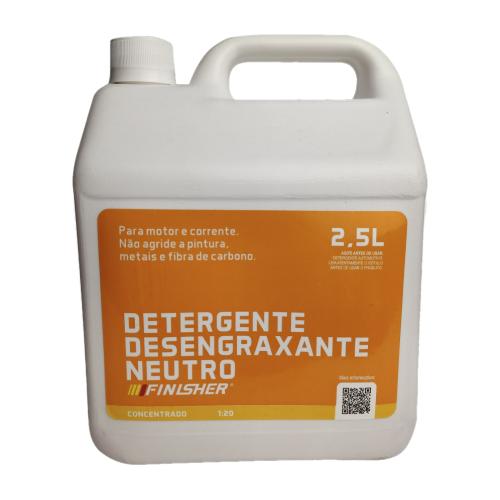 Detergente Desengraxante Neutro 2,5L Finisher