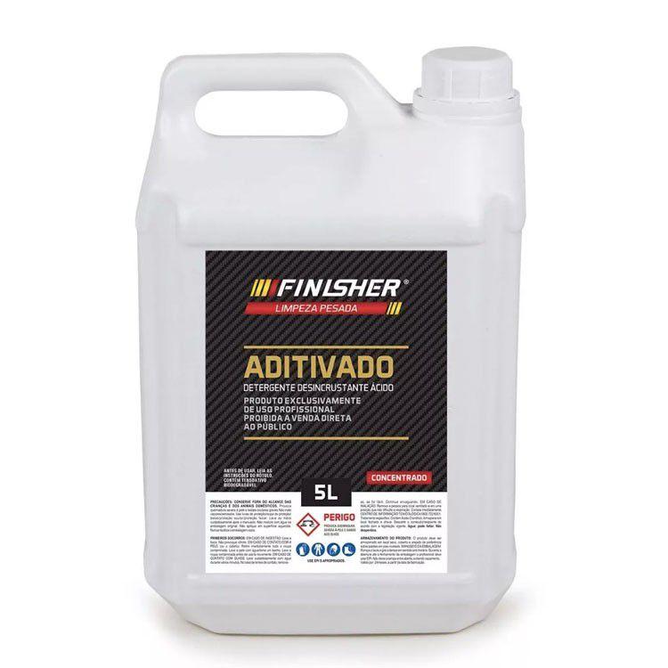 Detergente Desincrustante Ácido Aditivado 5L - Finisher