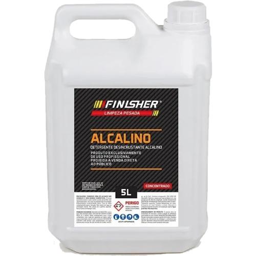 Detergente Desincrustante Alcalino 5L Finisher