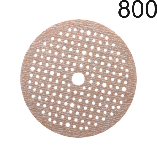 Disco de lixa Pluma Grão 800 Multi-air Soft-Touch 6