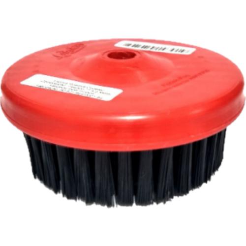Escova Rotativa Vermelha Média 120mm Rosca M14 Copetec