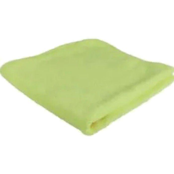 Flanela De Microfibra 350gsm Verde 40x60 Protelim