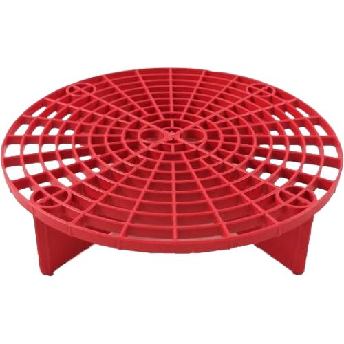 Grelha Balde Separador de Partículas Vermelha Mandala