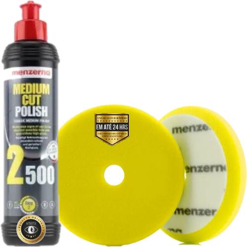 Kit de Polimento Refino 2500 Boina de Refino 5