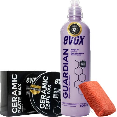 Kit de Proteção para Carros Escuros Ceramic Guardian Evox