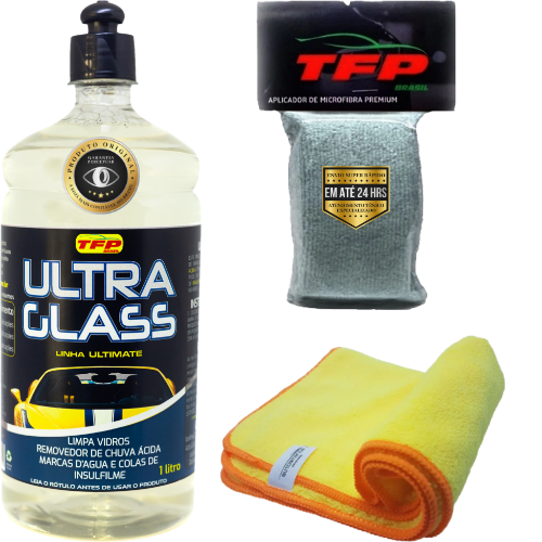 Kit Removedor de Chuva Ácida Ultra Glass 1L TFP