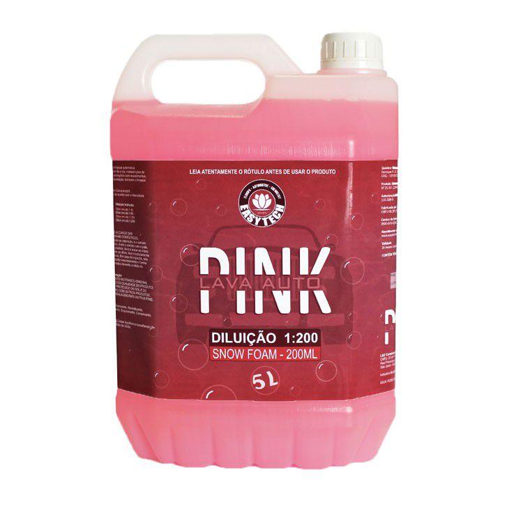 Lava auto Pink 5L - Easytech