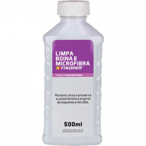 Limpa Boinas e Microfibras 500ml Finisher