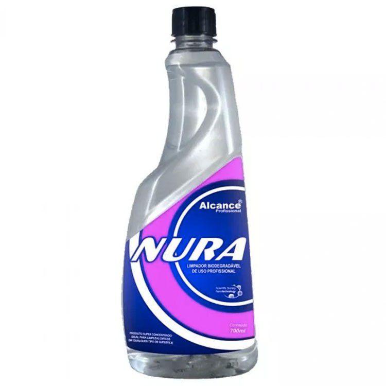 Limpador biodegradável Nura 700ml - Alcance