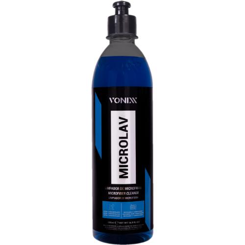 Limpador de microfibra Microlav 500ml - Vonixx