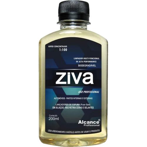 Limpador Multifuncional Ziva 200ml 1:100 Alcance