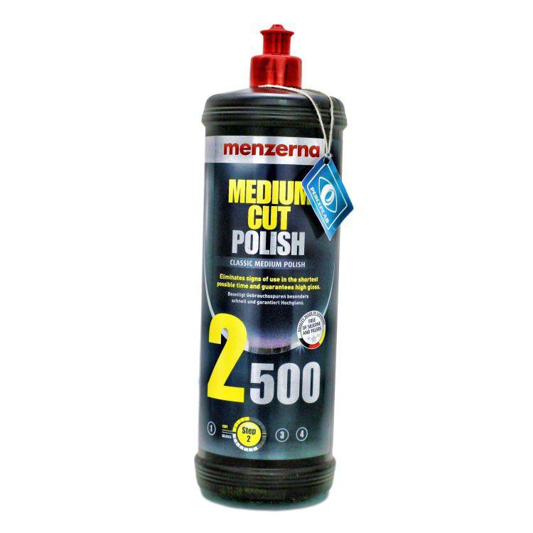 Polidor de refino 2500 medium cut polish 1l - Menzerna