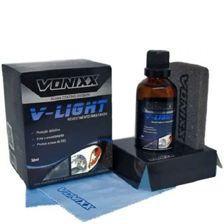 Revestimento p/ faróis V-Light 50ml - Vonixx