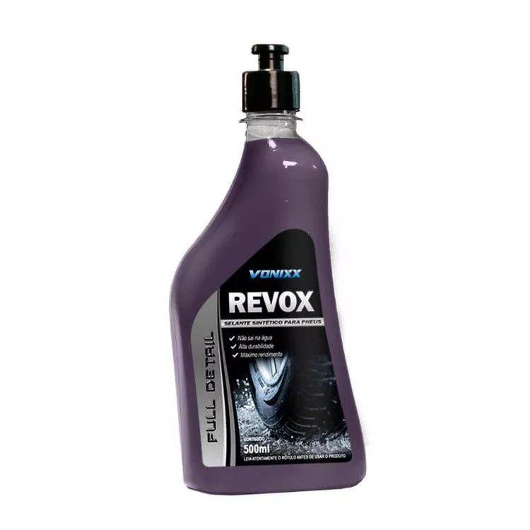 Selante sintético para pneus Revox 500ml - Vonixx