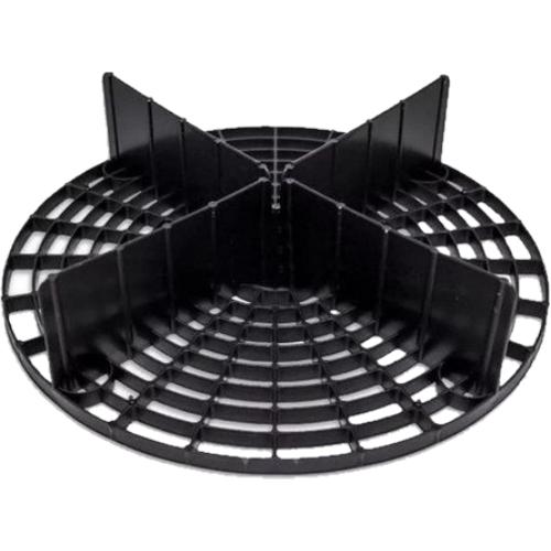 Separador de Partículas Preto Mandala