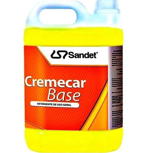 Shampoo Automotivo Cremecar Base 5L Sandet