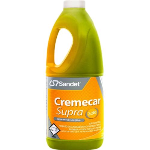Shampoo Automotivo Cremecar Supra 2L Sandet