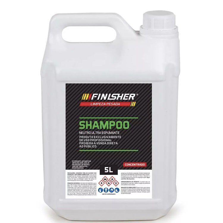 Shampoo neutro concentrado espumante 5l - Finisher