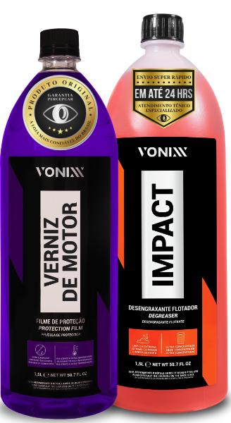 VONIXX IMPACT limpeza de motor VERNIZ DE MOTOR
