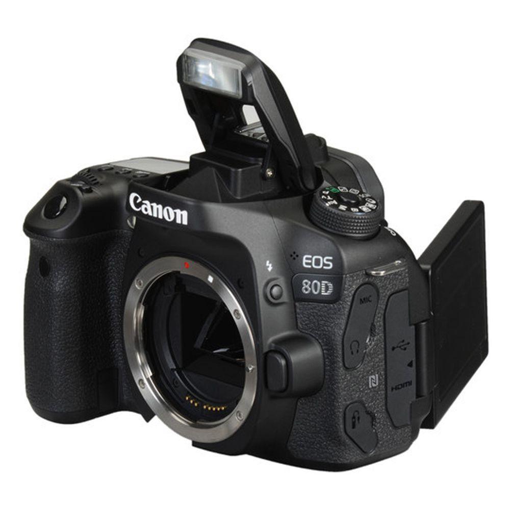 Câmera Canon EOS 80D corpo