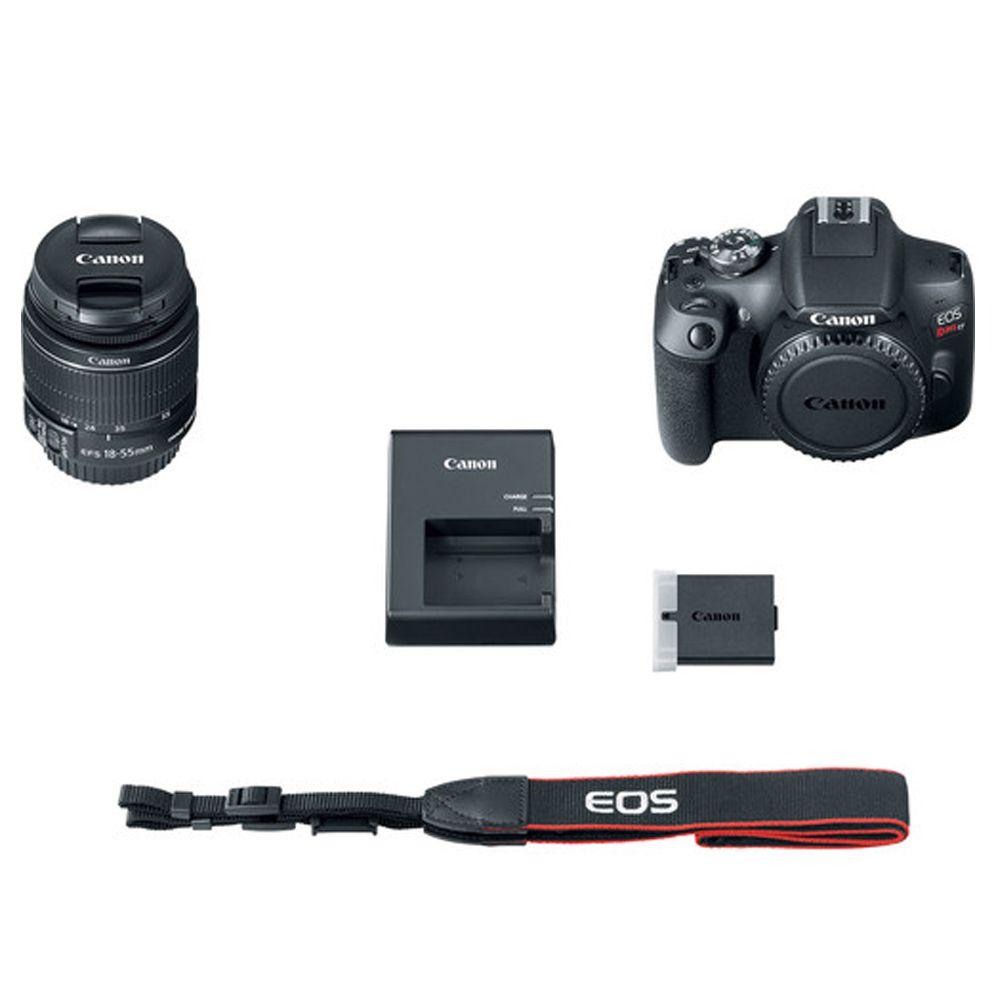 Câmera Canon EOS Rebel T7 18-55mm IS STM Kit DSLR