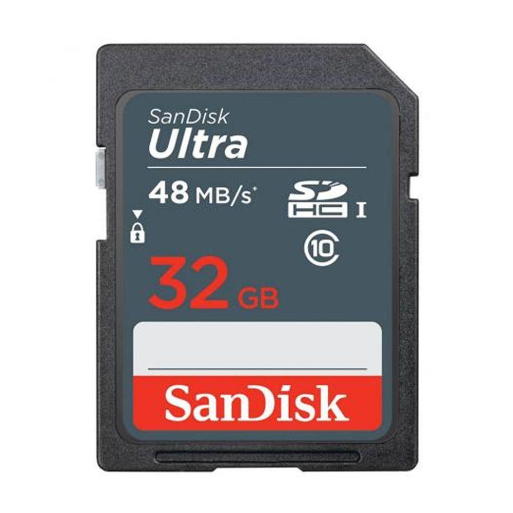 Cartão de memória SDHC UHS 32GB ULTRA 48MB/S