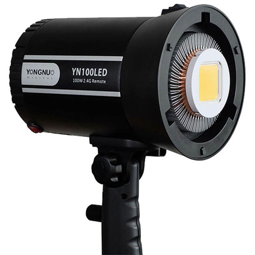 Iluminador de LED Profissional Yongnuo YN100 BOWENS
