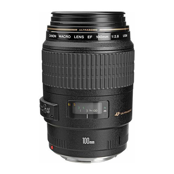 Lente Canon EF100MM F/2.8 MACRO USM