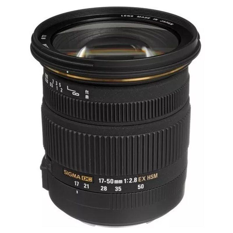 Lente Sigma 17-50mm F/2.8 EX OS P/ CANON