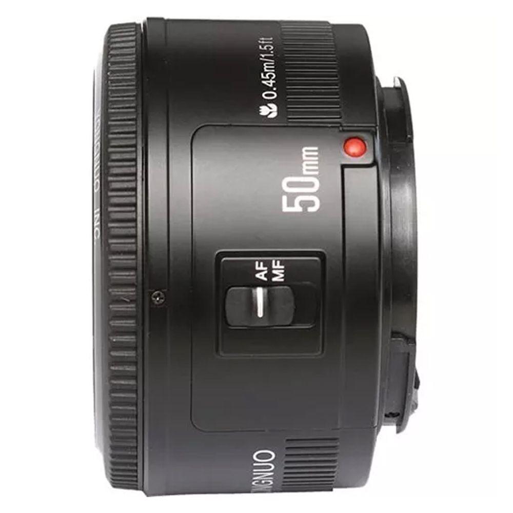 Lente Yongnuo YN50mm f/1.8 para Canon