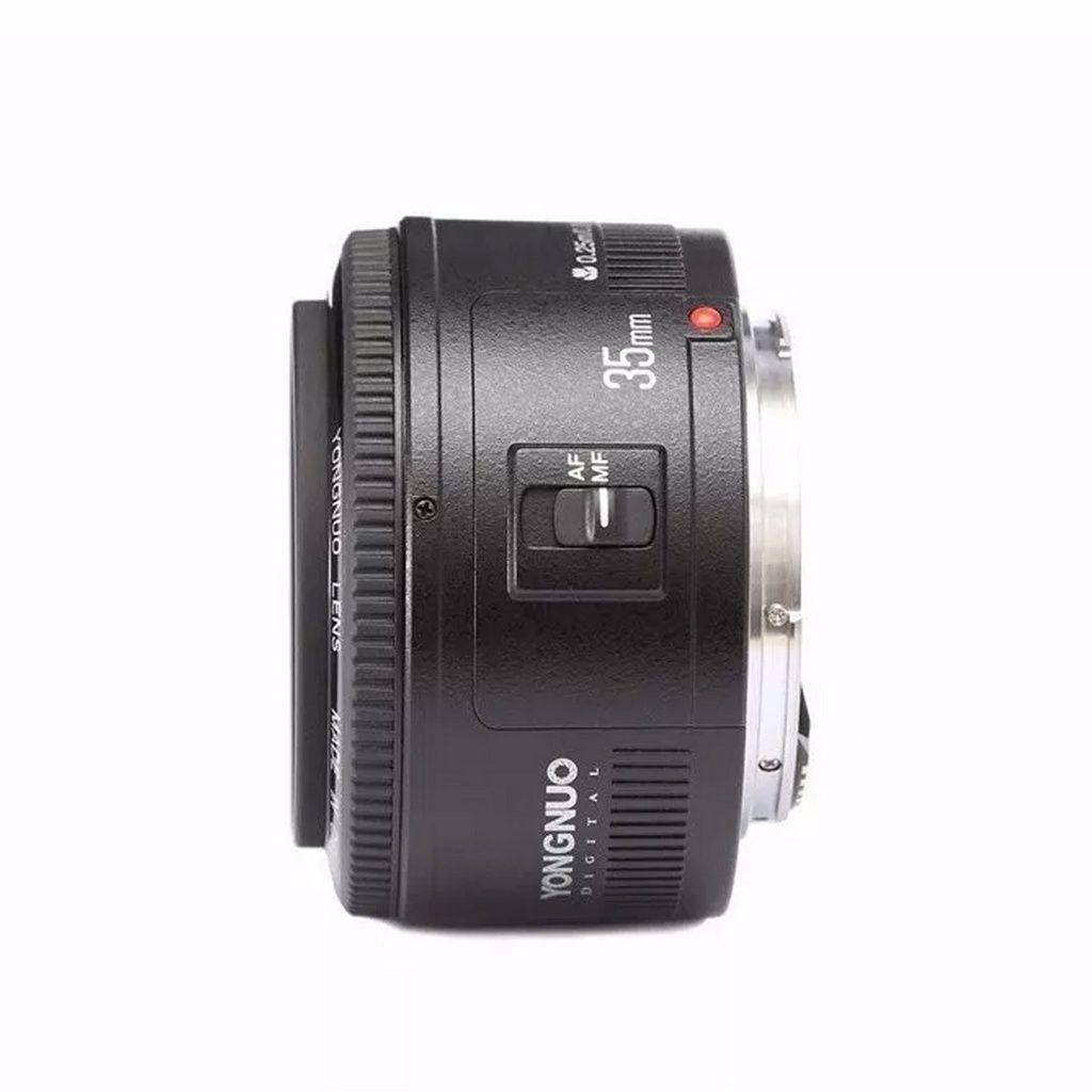Lente Yongnuo YN-35mm f/2.0 p/Canon